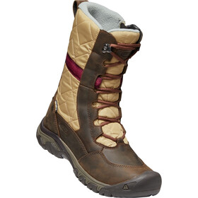 Keen Hoodoo III Tall Schuhe Damen dark earth/beaujolais